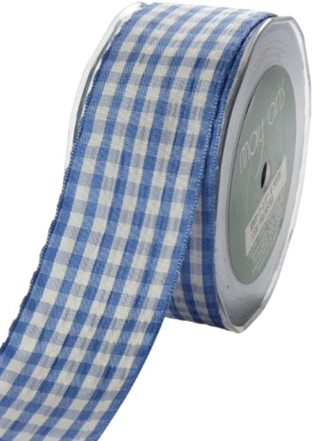 May Arts 3 8Inch Wide Ribbon Periwinkle