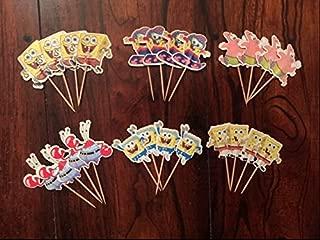 Best spongebob edible cupcake toppers Reviews