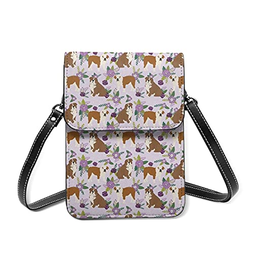 best& Collection Floral Crossbody Bag Phone Bags Purse,Sports Pulseras Outdoor Sweat-Proof Small Compact Handbags Crossbody Wallet Phone Holder Bag Shoulder Bag for Women Girls Lady