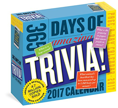 365 Days of Amazing Trivia! Page-A-Day Calendar 2017