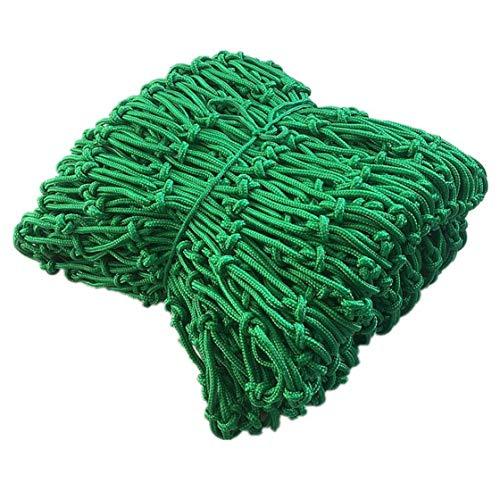 BTHAO Child Safety Net Rope net Child Safety Net, Stair Anti-fall Net, Balcony Protective Net, Fence Net, Cargo Cover Net, Plant Climbing Net, Blue Nylon Rope Net, 2x3m (Size : 6 * 4(18x12ft))