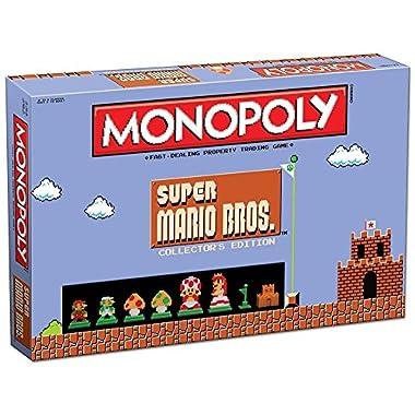 Monopoly: Super Mario Bros Collector's Edition Board Game
