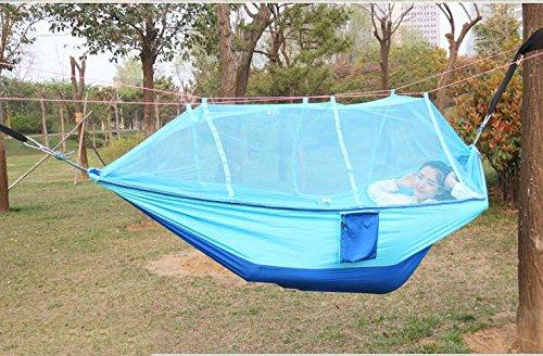 MONEYY Cliquez sur Les moustiquaires de lit Double Pendaison Anti-moustiques à l'extérieur de l'écran Solaire Piscine avec tentes hamacs 260 * 140cm,260 * 140cm,e Integration
