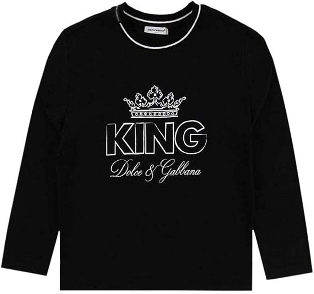 Dolce & gabbana  t-shirt,felpa per bambini ,in cotone puro