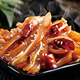 Delicious Spicy Beef Shank cooked ready to eat Produced under the supervision of USDA Chinese style Szchuan taste rich spicy flavor Fully cooked product and keep refrigerated or frozen Can be microwaved for 2 mins as a hot side dish