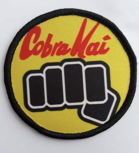 Parche bordado Kimono Gi de Karate Cobra Kai Artes Marciales
