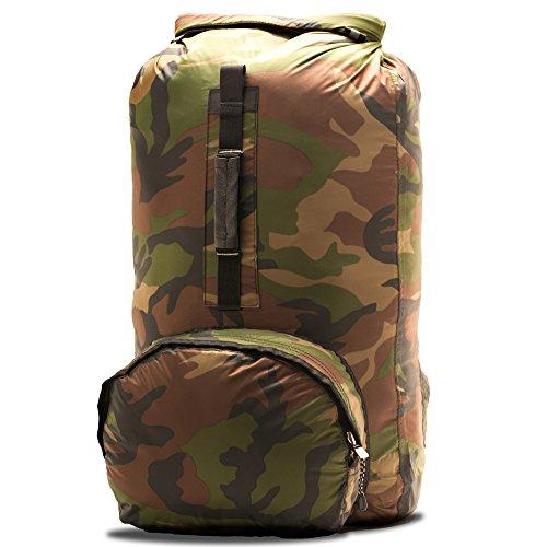 Aqua Quest HIMAL Camo Sac à Dos Étanche Compact Pack de Jour - Camouflage 20L