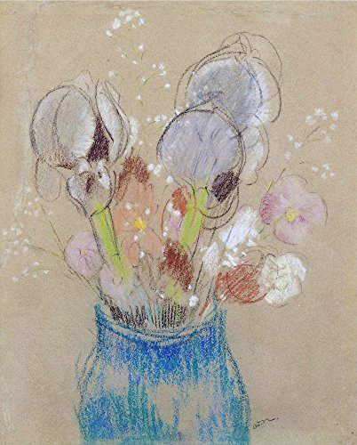 The Museum Outlet – Bouquet de fleurs, Iris – Poster Print Online Buy (76,2 x 101,6 cm)