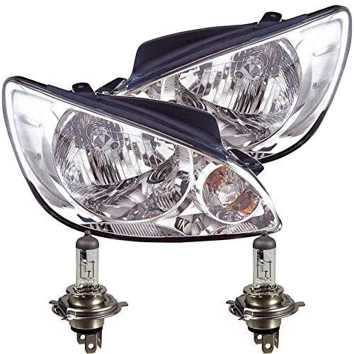 Scheinwerfer Set für Getz Bj. 05-09 H4 inkl. PHILIPS Lampen