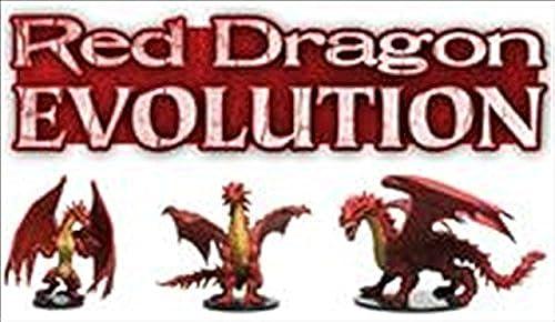 Pathfinder Battles - rot Dragon Entwicklung Zahlen