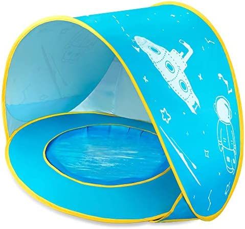 NEQUARE Baby Beach Tent Portable Pop Up Baby Tent UPF 50 Summer Sun Shelters Shade Sunscreen product image