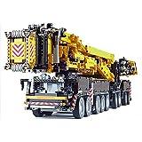 ZJLA MOC nuevo poder móvil grúa kit de construcción LTM11200 RC Liebherr Kits de motor bloques, grúa construcción ladrillos cumpleaños juguetes regalos interior niños