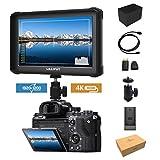 Noir Lilliput A7S-2 7 1920x1200 IPS Ecrans pouces Moniteur sur Caméra Field Monitor...