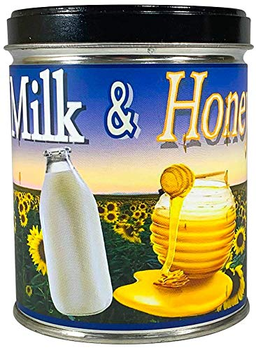 Our Own Candle Company Milk & Honey Scented Candle in 13 Ounce Tin