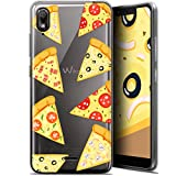 Ultra-Slim Case for 5.93 Inch Wiko View 2 Go Foodie Pizza