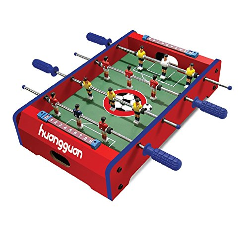 Toyshine 4 Rods Mid-Sized Foosball Mini Football Table Soccer Game (Assorted Color, 20 inches)
