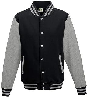 Just Hoods - Unisex college jas 'Varsity Jacket'