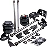Autoslegend Universal Weld-On Triangulated Rear 4 Link Suspension Kits for Truck SUV with Two 2500 Air Bags and Rear Air Bag Mounts