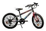 """Dino Bikes, Bicicletta Mountain Bike 20"""" MTB per Ragazzo 420U Aurelia Bambino, 3"""