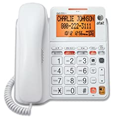 Simple, Corded Operation . Line Power Mode . Display Dial . Mute . Last Number Redial . Flash Receiver Volume Control . Ringer Volume Control . Table and Wall Mountable . Hearing Aid Compatible . English/Spanish/French Setup Menu Clear speak Dial-in-...