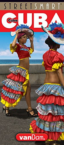 StreetSmart® Cuba Map by VanDam (English and Spanish Edition) Laminated Country Driving map with all attractions, hotels, beaches & city details plus ... restauratns, hotels and bars, 2019 Edition