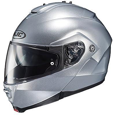 HJC 980-575 IS-MAX II Modular Motorcycle Helmet (Silver, X-Large)