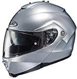 HJC IS-MAX II Modular Motorcycle Helmet (Silver, Large)