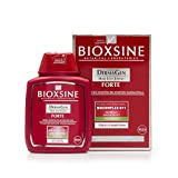Forte Shampoo para la pérdida de cabello fuerte - para mujeres y hombres | con champú vegetal para acelerar el crecimiento del cabello | remedio para el crecimiento del cabello 300 ml | de Bioxsine