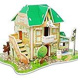 YUNHOME Puzzles 3D Maquetas para Construir 3D Rompecabezas Modelo Juguetes Educativos para Niños Castle Garden Zoo Princess House 3D Puzzle Papel Modelo Aprendizaje Regalo-W