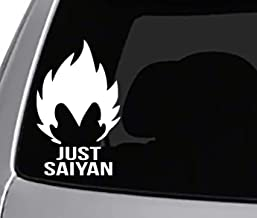 Dragon Vegeta /& Goku Fist Bump Ball Window Laptop Car Sticker 5.5