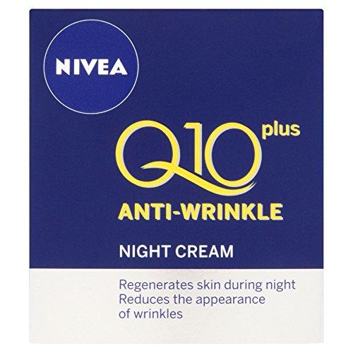 3 x NIVEA VISAGE® Q10 Plus Anti-Wrinkle Night Cream 50ml