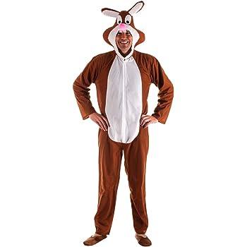Disfraz de Conejo Marrón para Adultos: Amazon.es: Juguetes y juegos