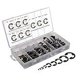 300 piezas. Juego de clips de seguridad C/E de 1,5-22 mm de diámetro exterior