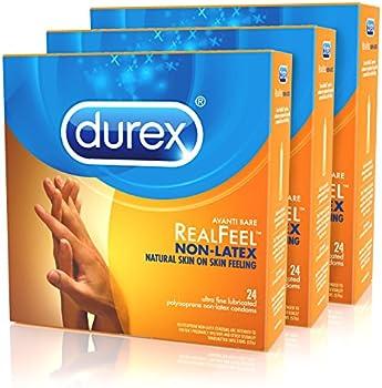 72-Count Durex Avanti Bare RealFeel Non-Latex Condoms