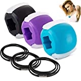 Jaw Exerciser,Jawline Exerciser,Jaw,Face,Neck Facial Exerciser for Women and Men Beginners,Jaw Exercise Ball for Define Your Jawline,Slim and Tone Your Face,Look Younger and Healthier(3 Pack)