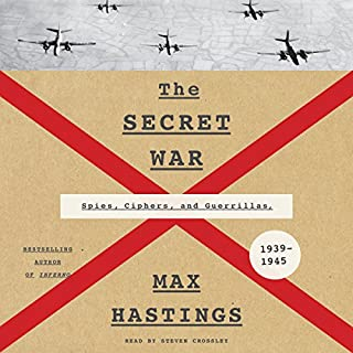 The Secret War audiobook cover art