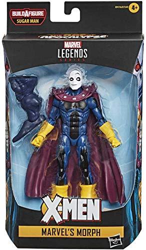 Collector Marvel X Men Legenden - Das Zeitalter der Apokalypse - Marvels Morph - Sammle sie alle, um die Figur Sugar Man zu Bauen! - Actionfigur mit Zubehör, ca. 6