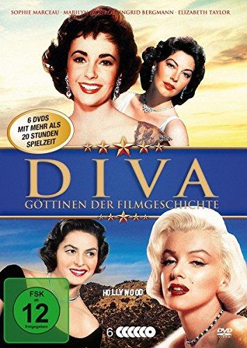 Diva - Göttinnen der Filmgeschichte (6 DVD Klassiker Box mit den schönsten Diven Hollywoods)