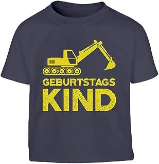 Shirtgeil Geburtstag Junge Bagger Geburtstagskind Kleinkind Kinder T-Shirt