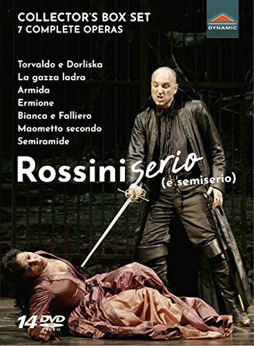Rossini: Serio E Semiserio [Various; Víctor Pablo Pérez; Lü Jia; Alberto Zedda; Roberto Abbado; Renato Palumbo; Claudio Scimone] [Dynamic: 37888]