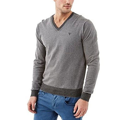 Pull Fin Donisio Ml Guess Gris Clair S