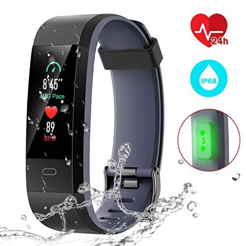 51wWJw+GxoL. SL500  - CHEREEKI Fitness Trackers, Heart Rate
