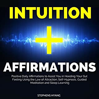 Intuition Affirmations audiobook cover art
