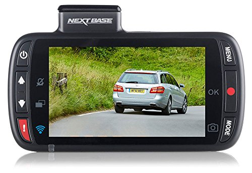 Nextbase 312GW – Full HD 1080p Dashcam Auto-Kamera mit GPS, DVR, WiFi & erweiterter Nachtsicht – Frontkamera - 140 ° Weitwinkel - Schwarz