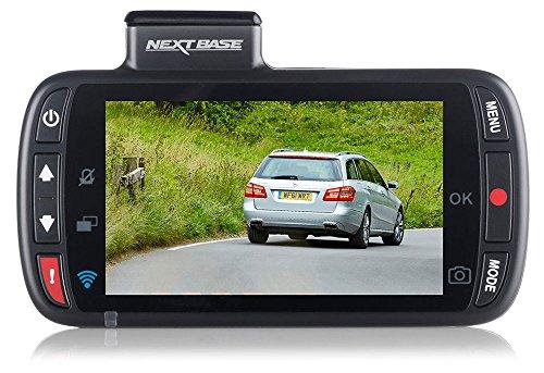 Nextbase 312GW – Full HD 1080p Dashcam Auto-Kamera mit GPS, DVR, WiFi & erweiterter Nachtsicht – Frontkamera - 140 ° Weitwinkel (Schwarz)
