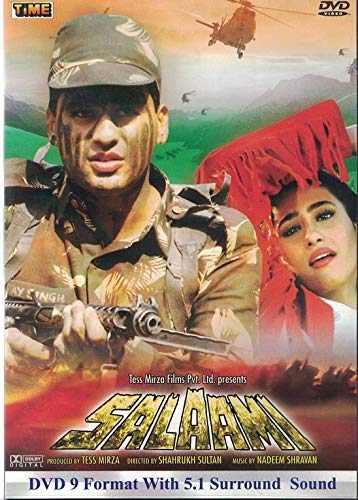 Salaami (Brand New Single Disc Dvd, Hindi Language, With English Subtitles, Released By Time)