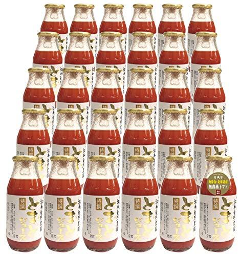 有機家 特選 無農薬トマトジュース 160ml×30本★ 宅配便 ★ 自然栽培トマト100% 北海道産・濃厚で甘い完熟トマトジュース (無塩) ★無農薬・無添加★ 健康と美容をサポート★この商品は有機家のオリジナル品で、他店では販売しておりません。