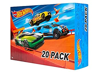 Hot Wheels 20 Car Gift Pack  Styles May Vary  Multicolor 7.6  T