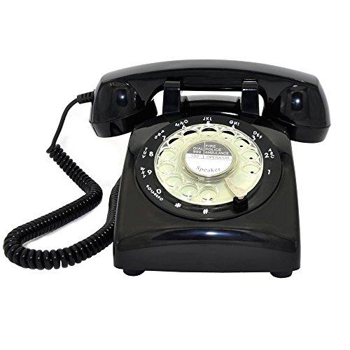 rotary dial home telephone - 8