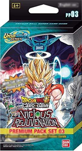 Dragon Ball Super Card Game Vicious Rejuvenation Premium Pack 03 UW03 - Juego de cartas (Versión francesa)